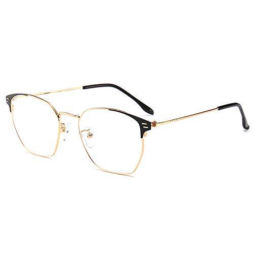 Blaulichtfilter-Computer-Brille zum Blockieren von UV-Kopfschmerzen [Anti-Augenermüdung] Vintage Brillen, Unisex (Männer/Frauen)-2