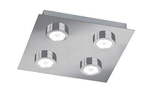 LED-Deckenleuchte H x B x T: 4 cm x 25 cm x 25 cm