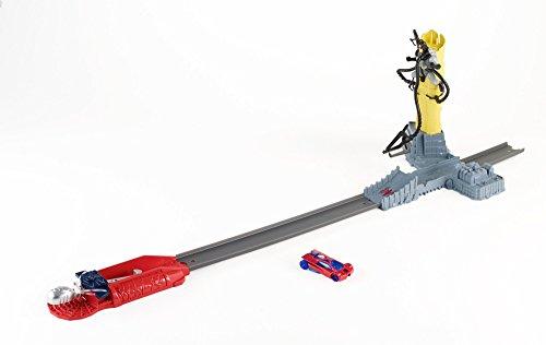 Hot Wheels Marvel The Amazing Spider-Man Doc Ock Knockdown Track Set by Hot Wheels