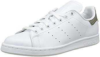 adidas Stan Smith, Baskets Basses Homme, Blanc (Ftwr White/Ftwr White/Ftwr White), 39 1/3 EU