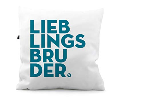Kissen Lieblingsbruder Bruder Liebling KS166 (50 x 50 cm)