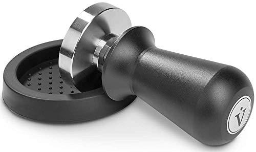 VIENESSO Profi Barista Tamper Set – Druckregulierend mit Anpressdruck von ca. 14kg durch...