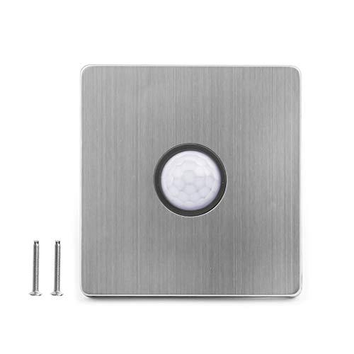 Besttse PIR - Interruptor de luz con sensor de movimiento, cuerpo automático...
