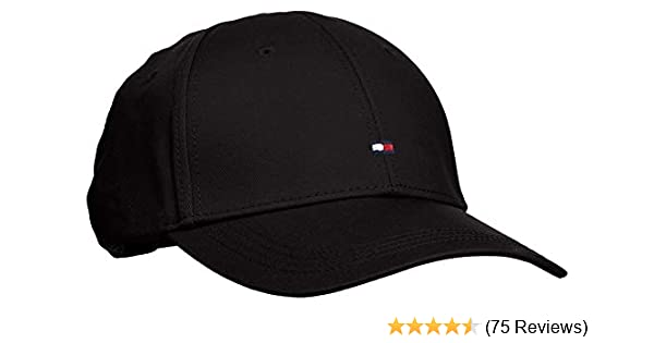 38ea8187 Tommy Hilfiger Men's CLASSIC BB CAP Baseball, Flag Black, One Size:  Amazon.co.uk: Clothing