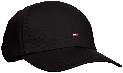 Tommy Hilfiger Classic Bb Cap - Gorra para hombre, Negro (Flag Black...