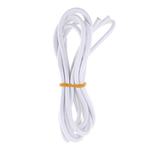 Seilwerk STANKE Gummiseil Expanderseil Schwarz 10 mm 5 Meter Gummileine Spannseil Planenseil Gummischnur