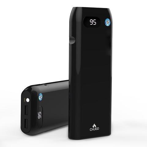 Caricabatteria portatile /Power Bank / Bateria Esterna 20000 mAh CHJGD Power Bank Con Quick Charge 3.0 Schermo LCD Per Apple iPhone Samsung, Pixel e altri Android