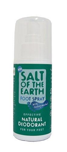 Desodorante natural pies mentol refrigeración sal