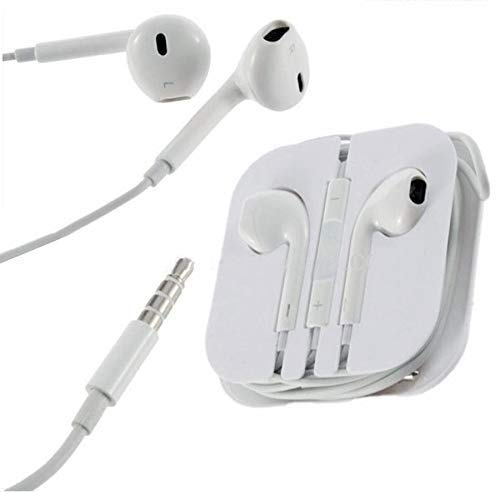 Gassa Earphones for Smart Phones with 3.5 mm Jack and Compatible for iPhone 4 / 4s / 5 / 5s / 6 / 6s with Volume Button and Mic Image 5