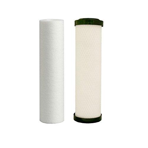 WATT PREMIER 560088Führen, Zyste, VOC Carbon Block Zwei Stage Ersatz Filter Pack -