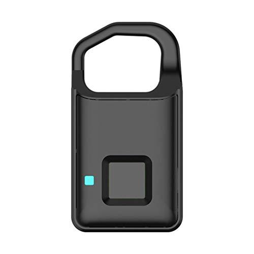 PRENKIN Cerradura de la Huella USB Recargable Inteligente sin Llave de