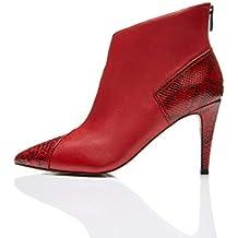 massimo stile limpido in vista bene fuori x Amazon.it: stivali rossi pelle