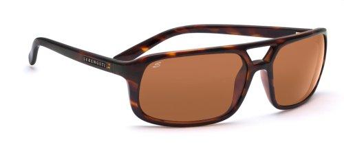 Serengeti Livorno Sonnenbrille, Gläser: polarisiert, braun