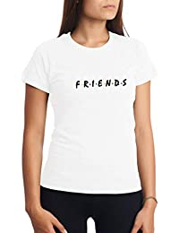 CHILLTEE Friends Cool Fun Style Friends TV Series Camiseta para Mujer 8879b4910c516