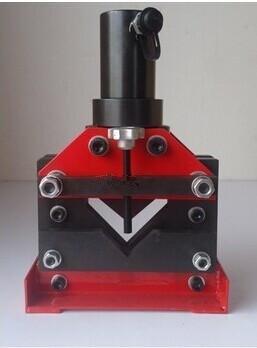 Winkel Winkel Arbeitshydraulik Gowe hydraulische Eisen Cutting Tool Steel Cutter Fensterdicke von 10 mm Stahl Arbeitshydraulik Cutting Tool