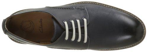 Clarks Farli Walk, Chaussures de ville homme Bleu (Midnight Blue)
