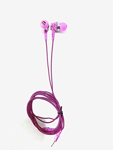 Wired Sweat Proof Earphones With High Bass Stereo For All 3.5mm Device Super Bass Sports In-ear Noise isolating Universal Earphones Headphones With Mic Fits nearly all mobile phone Earbuds for Apple iPhone, Sony, Samsung, Motorola, Gionee, Nokia, Blackberry, Le eco, One plus, Xiaomi, LG all the Android I phone and other devices Pink By Paper Plane Design  available at amazon for Rs.345