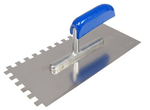 CON:P CP781237 Zahnglättekelle 280 x 130 mm, Zahnung 8 x 8 mm, rostfrei