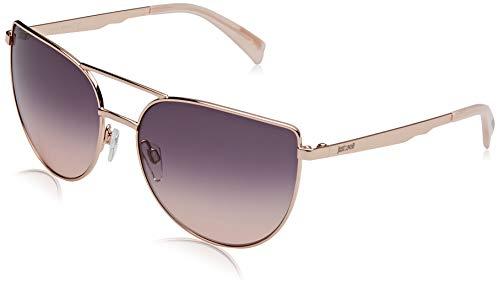Just Cavalli Damen JC829S Sonnenbrille, Shiny Pink/Gradient Smoke, 58