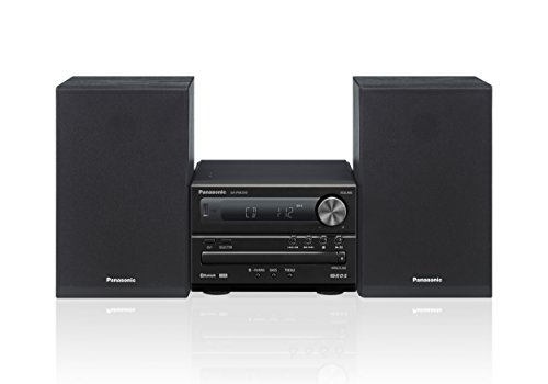 Panasonic SC Sistema Micro, CD, MP3, Radio RDS, USB, Bluetooth, 20 Watt RMS, Nero