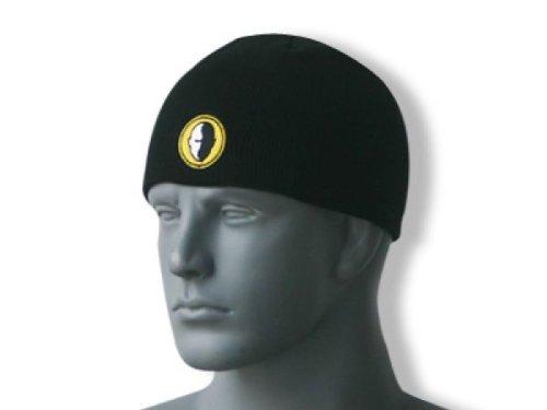 Headblade Mütze Beanie Black - schwarze Baumwollmütze für einen warmen Kopf