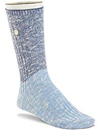Birkenstock Damen Socken Seasonal Slub Block Navy Night Blue