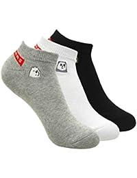 We Bare Bears Women's Cotton Socks (Pack of 3)