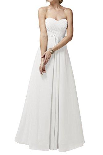 Ivydressing - Robe - Trapèze - Femme Blanc - blanc
