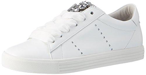 Kennel und Schmenger Schuhmanufaktur Damen Town Sneaker Weiß (Bianco/Crystal Sohle Weiss)