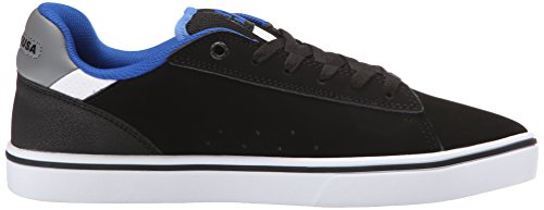 DC Skateboard Shoes NOTCH BLACK/BLUE Schwarz / Blau