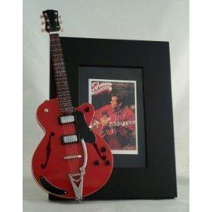 Chet Atkins Miniatur Gitarre Foto Rahmen Country