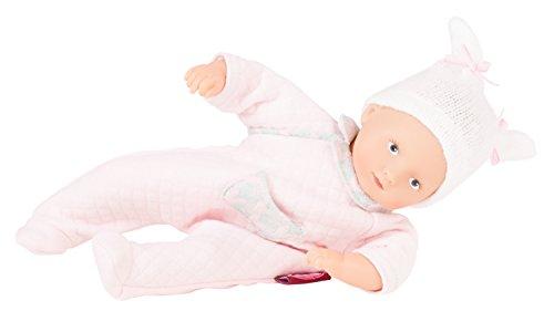 Götz 1787026Mini de muffin Waffles muñeca–22cm grandes Baby muñeca, gemalte Ojos azules, sin pelo–weichkörp muñeca en 3piezas–A partir de 18meses