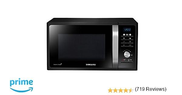 Samsung MG23F301TCK Forno a Microonde 800 W, Grill 1100 W, 23 l ...
