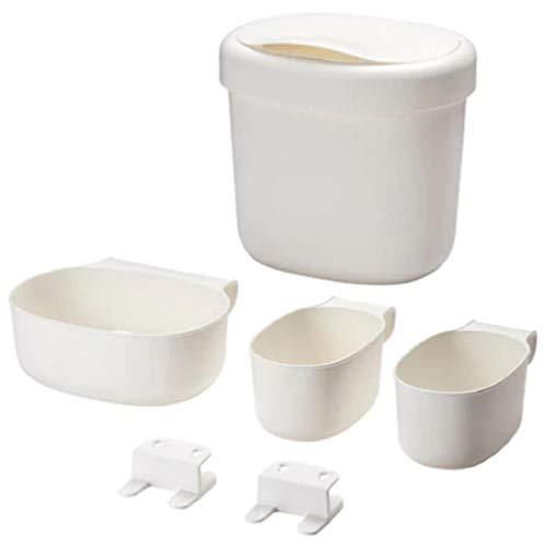 Ikea 990105 Corbeilles Table à Langer, Plastique, Blanc, 27 x 23 x 26 cm