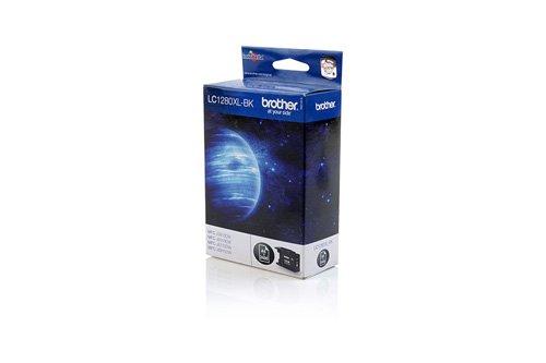 Preisvergleich Produktbild Brother LC1280XLBK - Schwarz - Original - Tintenpatrone - für MFC J5910DW, J6510DW, J6710DW, J6910DW Tinte LC-1280XLBK / schwarz / 2400 Seiten / für MFC-J6510DW, -J6710DW, -J6910DW