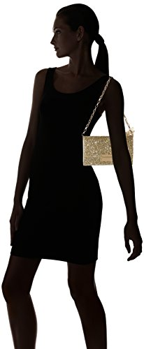 Esprit Damen 038ea1o040 Clutch, 3x13x22 Cm Oro (oro)