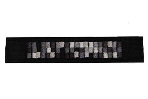 Unbekannt Namensstreifen Spezialkräfte Pixel 3 Stück Schwarz