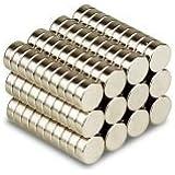 Generic Magnets Fridge Disc all Purpose Mangets, 10X1mm - Pack of 20