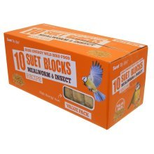 Suet To Go Mealworm & Insect Block Value Pack 10pk by Suet To Go