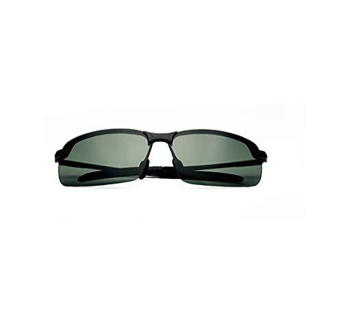 KISlink Sonnenbrillen Sonnenbrillen Herren polarisierte Brillen Sonnenbrillen/Gezeiten treibende Fahrer treibende Spiegel/männliche individuelle Augen eckige Sonnenbrillen Brillen (Farbe: 7)