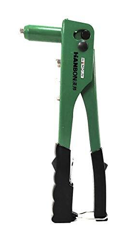 "Homdum® Non Slip 10"" Rivet Gun and Rivets, Riveter Nail Gun, Pop Riveter With 150 nos of Blind Rivets."