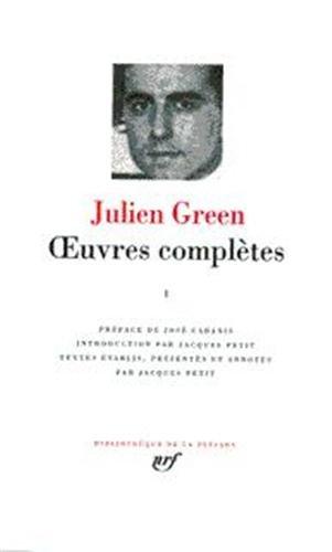 Green : Oeuvres complètes, tome 6 par Julien Green