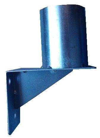 WBCM-48 Wandmontagebasis für Konvexspiegel mit Befestigungsbügel für 48mm Stangen. Test