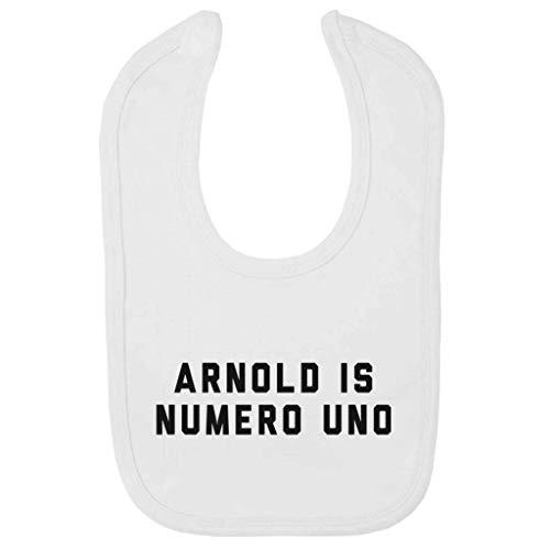 (Arnold Schwarzenegger Arnold Is Numero Uno Baby And Toddler Velcro Close Bib)
