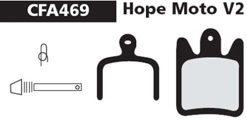 CHATTERBOX. Ebc Hope Moto Ebc Hope - Pastillas de freno de disco...