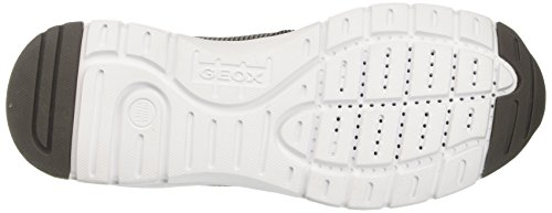 Geox U Calar B, Baskets Basses Pour Homme Gris (anthracitec9004)