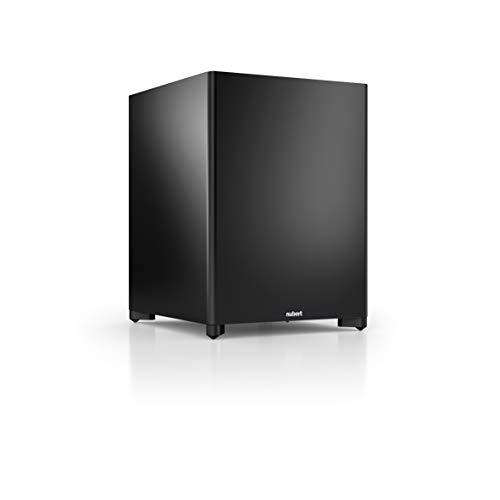 Nubert nuSub XW-700 Subwoofer | Lautsprecher für Bass & Effekte | Surround & Action auf höchstem Niveau | Aktivsubwoofer-Technik | LFE-Box mit 250 Watt | Subwoofer Schwarz