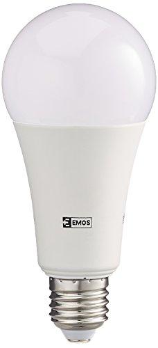 EMOS LED Glühlampe Classic A67 20W E27 Warmweiß, Glas, 2 W, Transparent, 5,2 x 5,2 x 9,5 cm