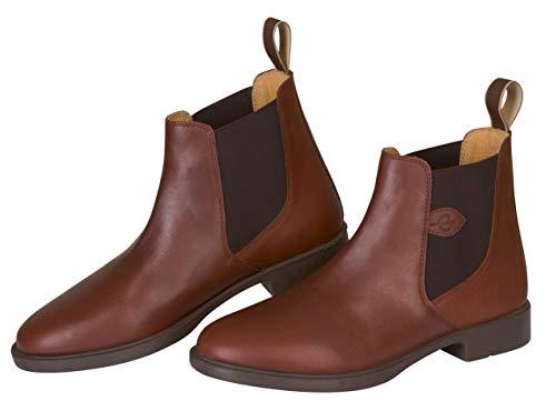 COVALLIERO Reitstiefelette Leder Classic, Schuhgrösse 40, braun