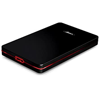 Advance Steel Disk Screwless Boîtier pour disque dur Noir